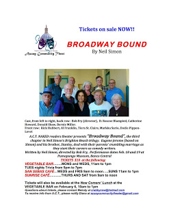 Broadway Bound flyer