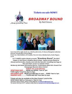 Broadway Bound flyer