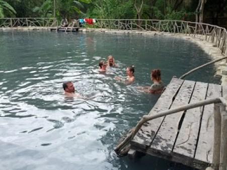 Sulfur laguna