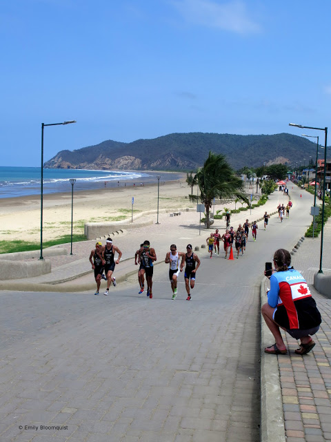Men's triathlon, Puerto Lopez