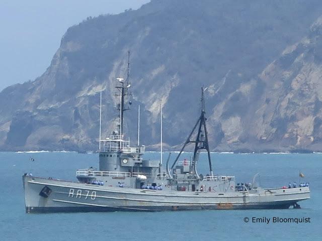 BAE Chimborazo (RA-70), Ecuador Navy
