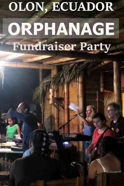 Olon Orphanage fundraiser party
