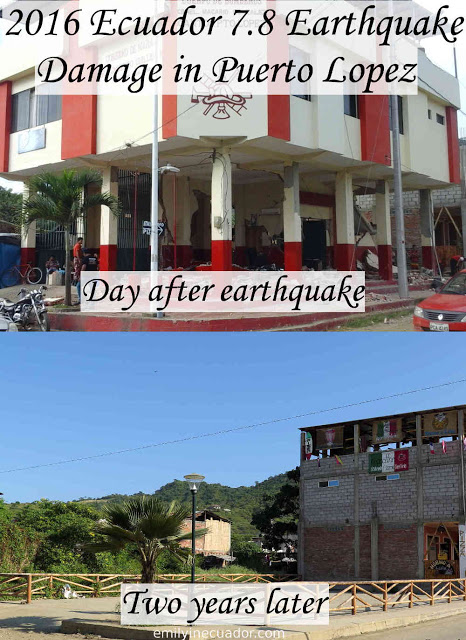 Puerto Lopez two years after 7.8 Ecuador earthquake