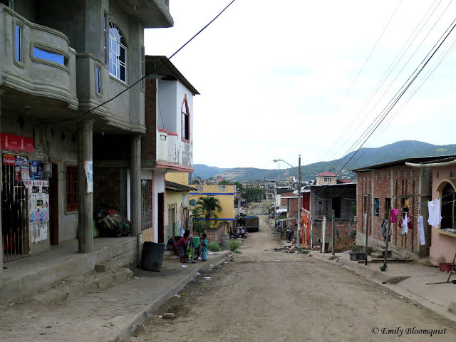Puerto Lopez street