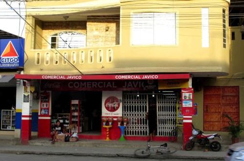 Comercial Javico store in Puerto Lopez, Ecuador