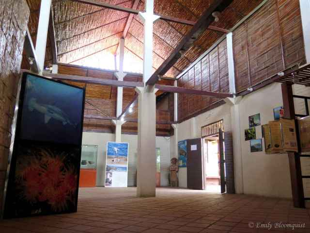 Ecuador's Machalilla National Park Headquarters inside building