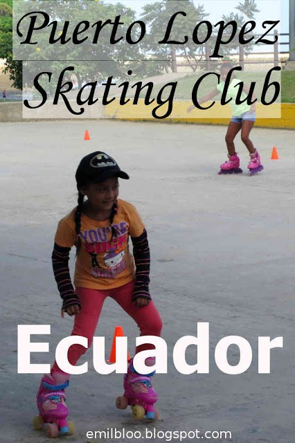 Puerto Lopez Kids Skating Club, Ecuador
