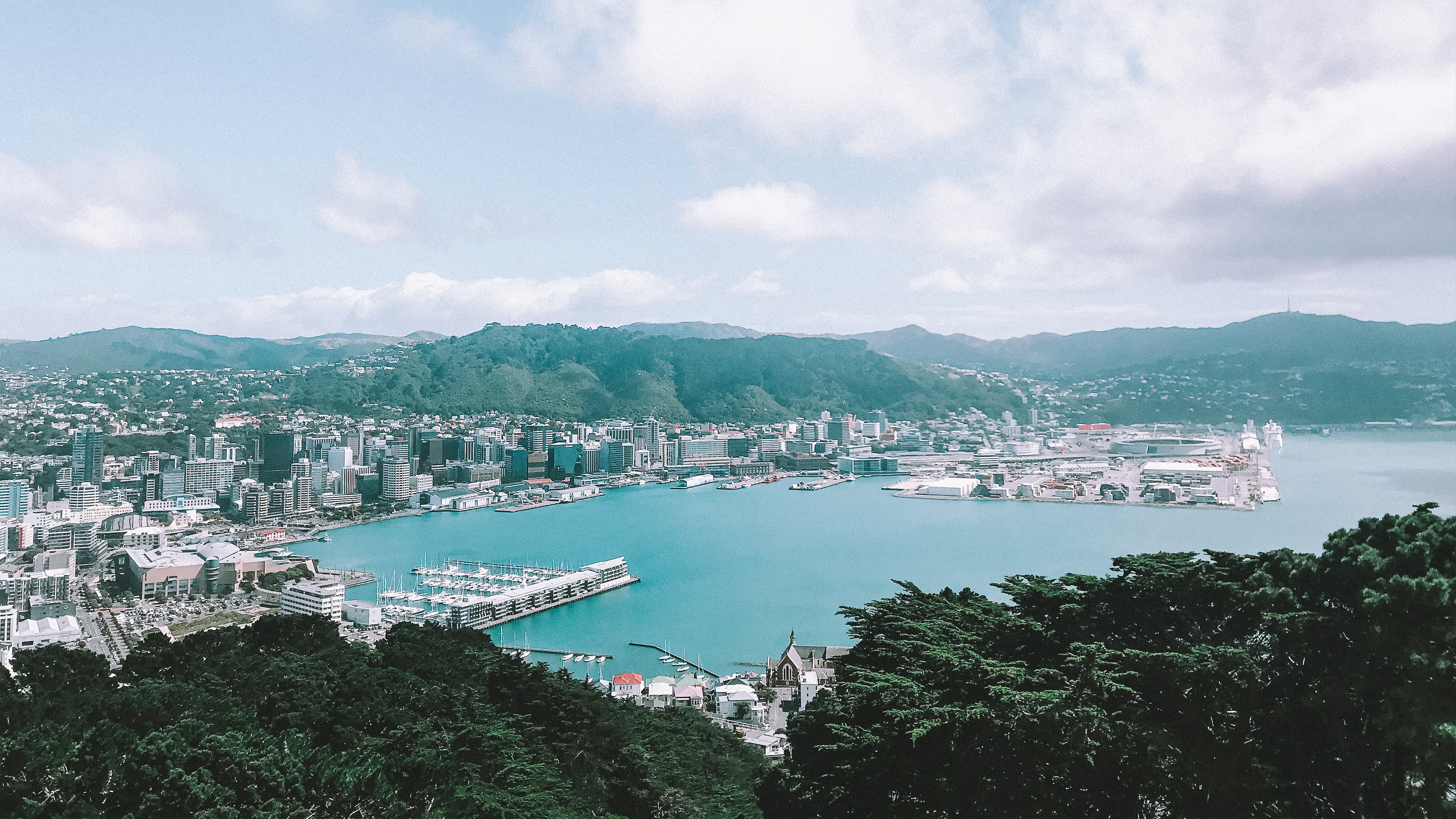 View of Wellington from the Mount Vic lookout