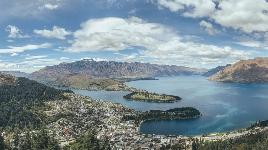 Things to do in Queenstown: View from the top of the Gondala