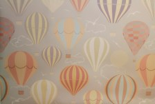 """Up Up and Away 48"""" x 60"""" (4ft x 5ft) / Eco PolyPaper"""
