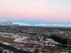 Sunset over Iceland...