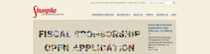 Shunpike original website desktop view