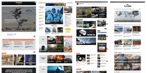 Outdoor online magazine competitive analysis