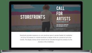 Shunpike redesign desktop storefronts on silver MacBook Pro