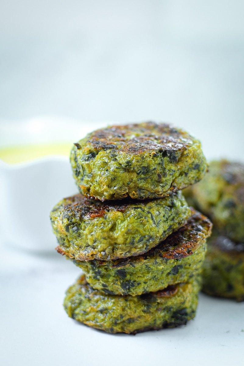 Baked Broccoli Bites Emily Kyle Nutrition