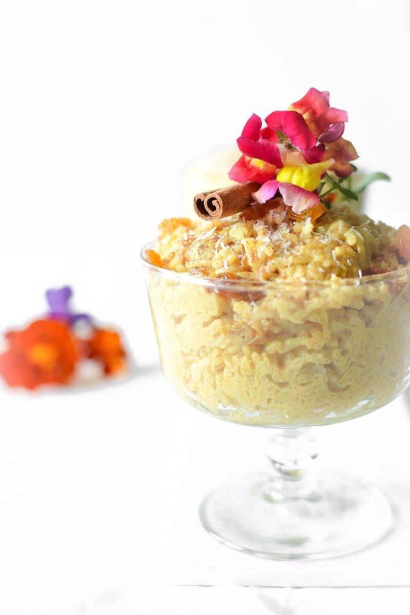 Coconut Instant Pot Rice Pudding (Vegan, Gluten-Free ...