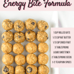 Customizable Fruit, Nut & Seed Energy Bites by Emily Kyle Nutrition