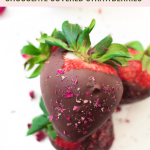 CBD Chocolate Covered Strawberries by Emily Kyle Nutrition