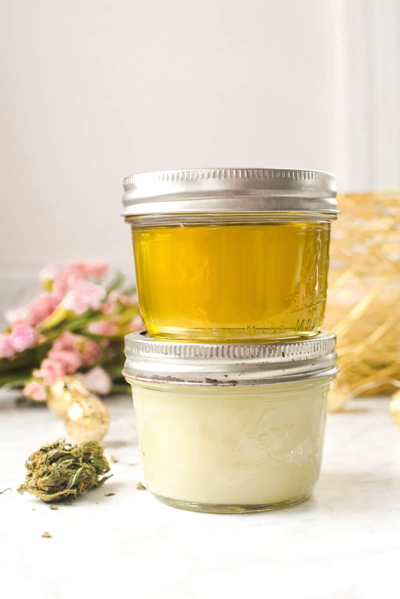 Cannabis Coconut Oil by Emily Kyle Nutrition
