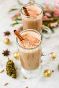Cannabis-Infused Chai Latte by Emily Kyle Nutrition