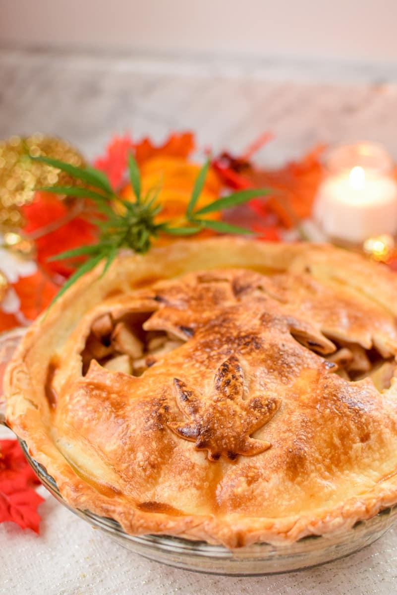Cannabis Apple Pie by Emily Kyle Nutrition10 - Classic Homemade Cannabis Apple Pie