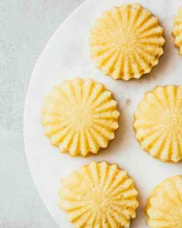Dairy-Free Mini Lemon Cakes
