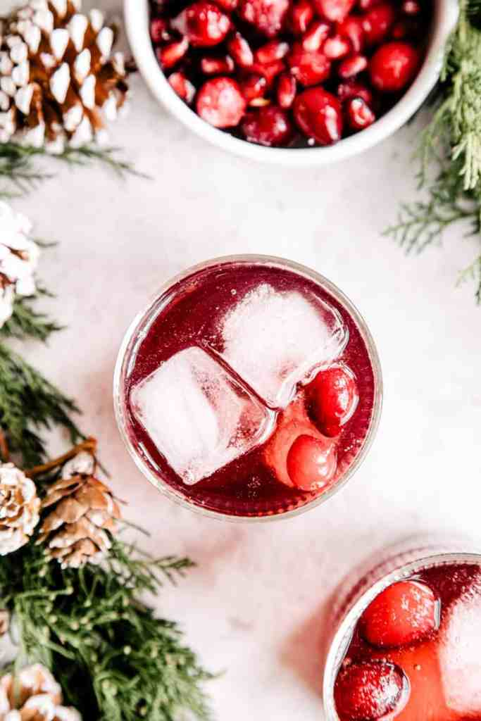 Holiday Gin & Tonic