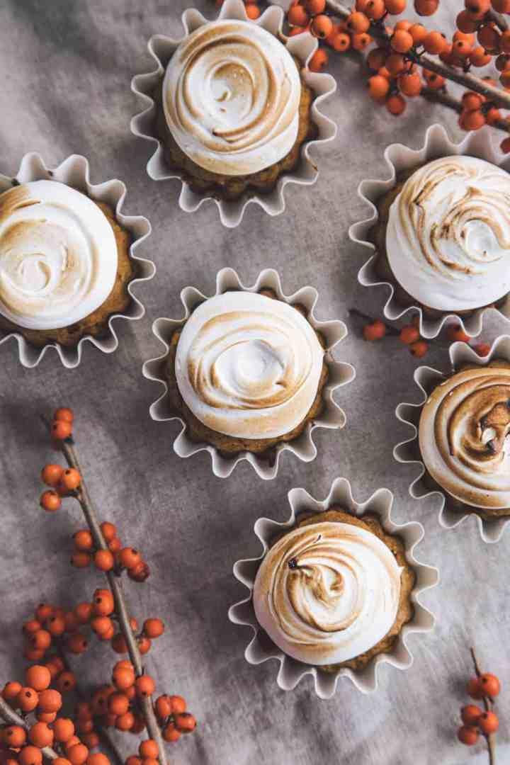 Pumpkin & Sweet Potato Cupcakes