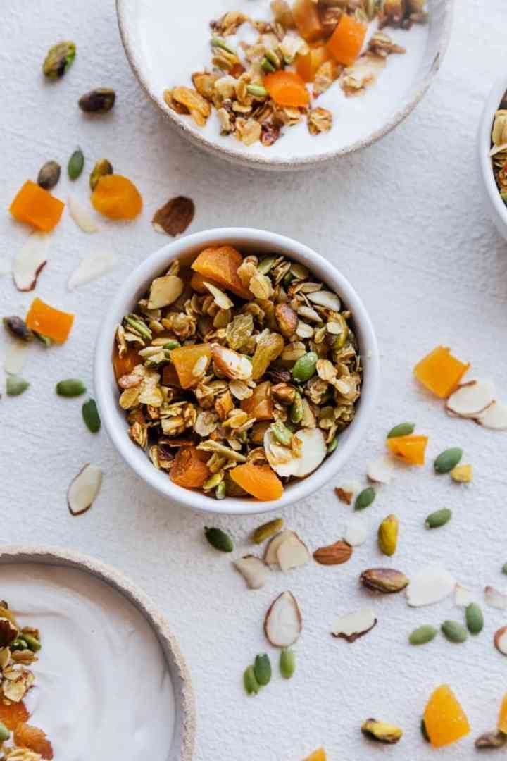 Seeded Apricot & Coconut Granola