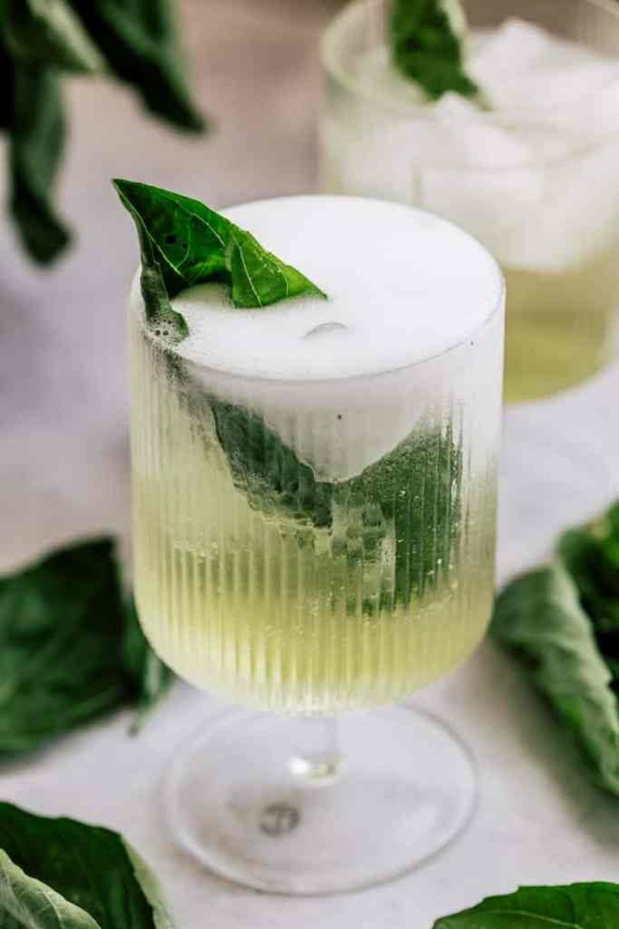 Basil Spritz Cocktail