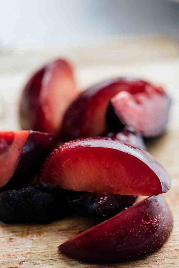 Plums for Summer Stone Fruit Salad