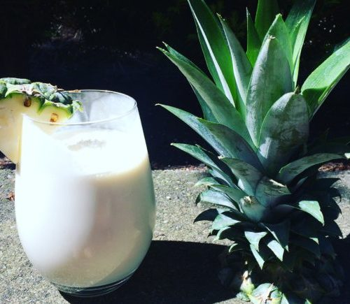 Healthy Homemade Pina Colada Recipe