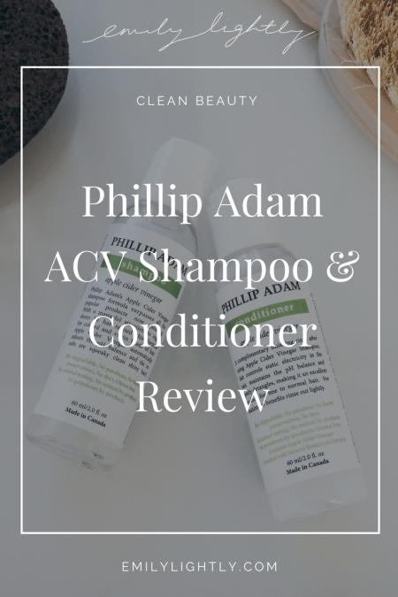 Phillip Adam Shampoo Review