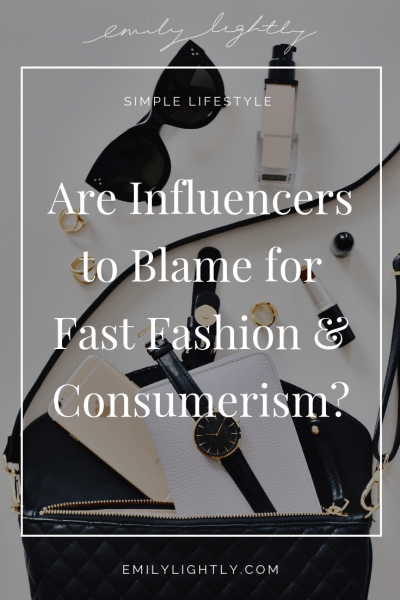 Influencer Marketing and Consumerism