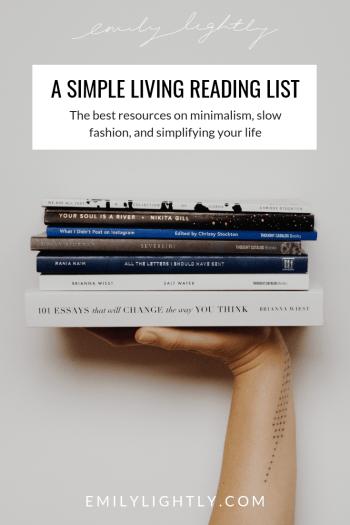Simple Living Reading List