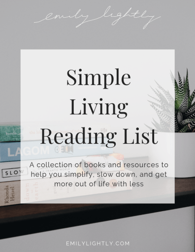 Simple Living Reading List