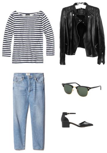Classic French Capsule Wardrobe - Emily Lightly