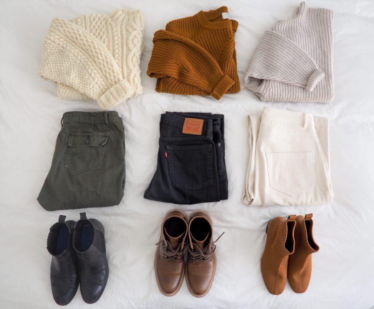 My Winter 2019 Capsule Wardrobe - Emily Lightly