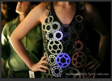 2012 Object Runway IGCA Bicycle Sprocket Dress Amanda Longbrake Odegard 4
