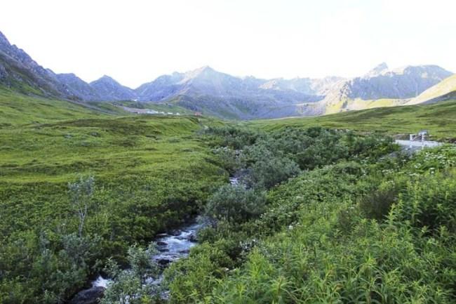 Alaska Travel AlCan Highway 01