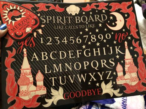 Grisha Spirit Board designed by @DropAndGiveMeNerdy