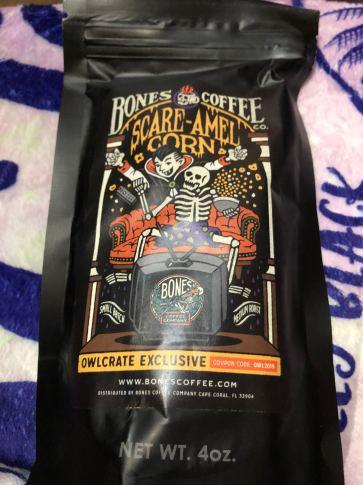 Coffee created by Bones Coffee Company