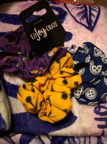 Coraline Scrunchies designed by LitJoy