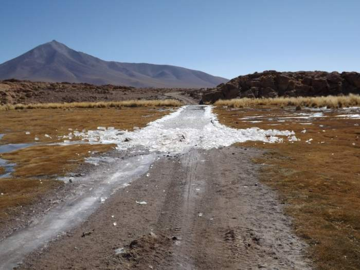 Salar Day Two - Icy Roads