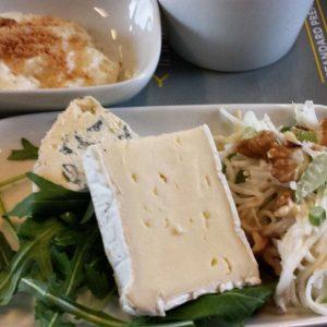 Meal on board the Eurostar