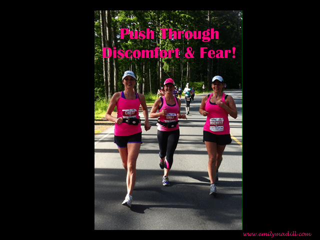 Move Through Fear, Comfort Zones, Empowerment, Courage, Confidence Booster, Running, Emily Madill, LovingLife