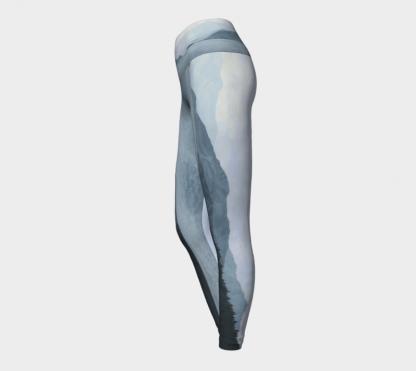 Blue Leggings, Mountain Leggings, Contour Leggings