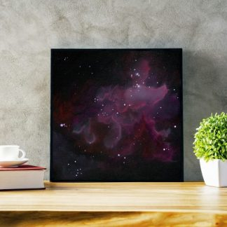 nebula art, space art, galaxy art