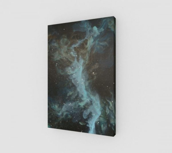 galaxy art, space art, nebula art, science art