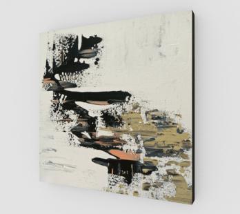 abstract art print, square art print, modern abstract art print